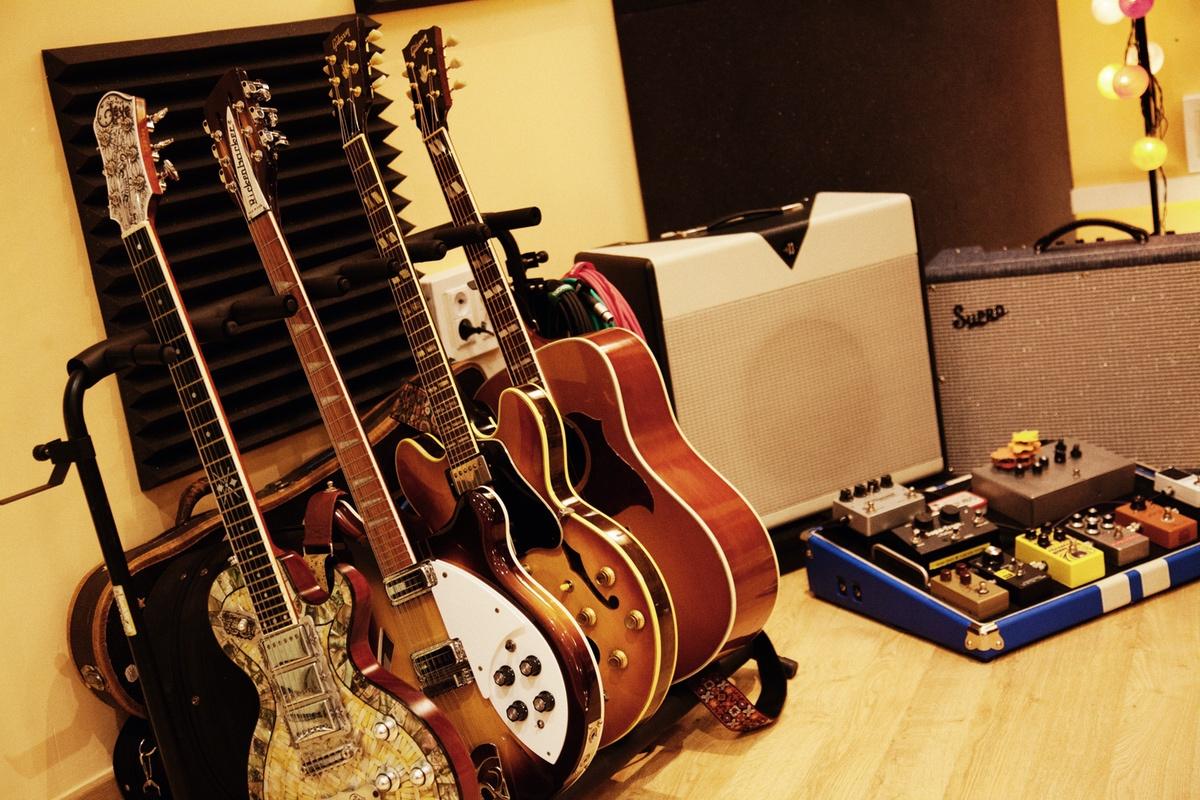 Guitarras, Pedales Y Amplis