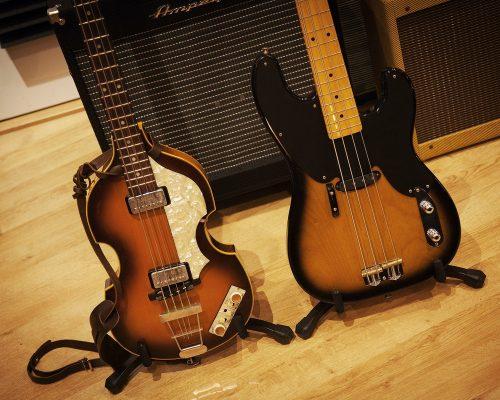 Hofner And Fender Bass