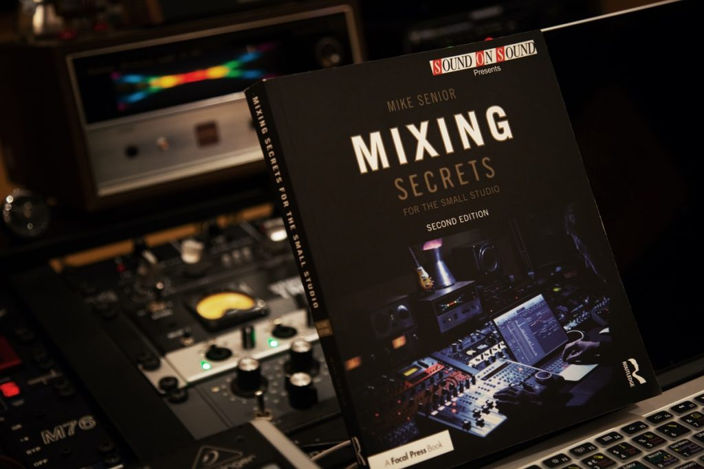"""Our studio in the cover of """"Mixing Secrets"""" by Sound on Sound"""